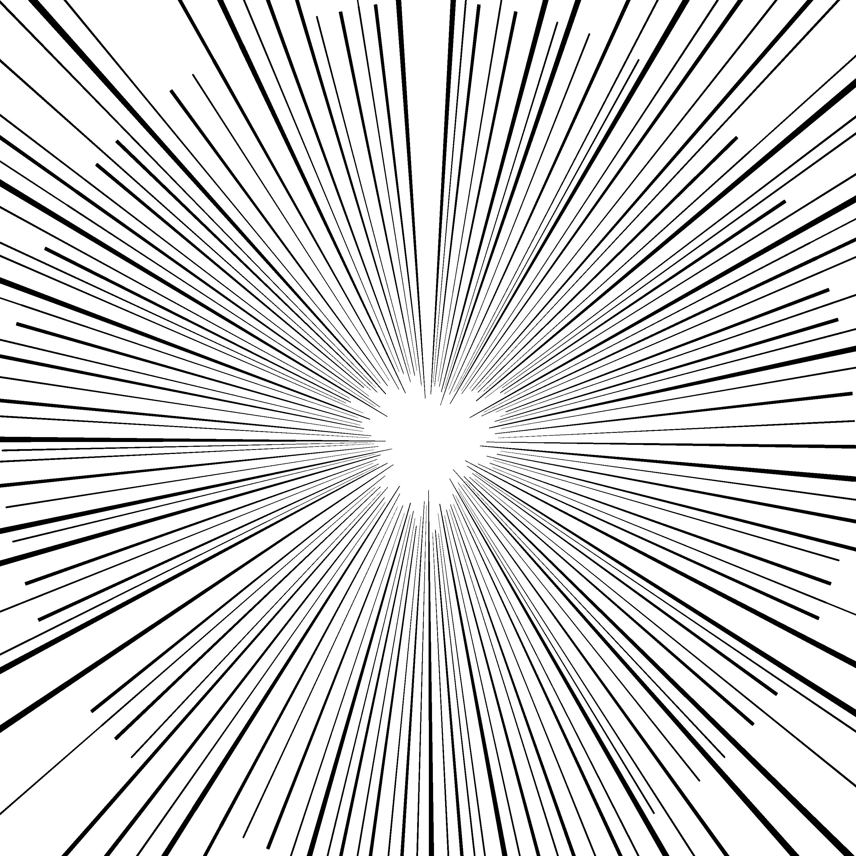 集中 フォト 線 ショップ 【Photoshop】わずか30秒で漫画みたいな集中線を引く方法。